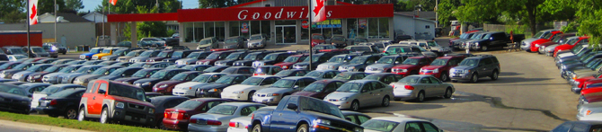 Used Car London Ontario - Goodwills Used Cars Header