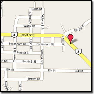 Goodwill's Used Cars Aylmer Ontario - Goodwill's Used Cars Map